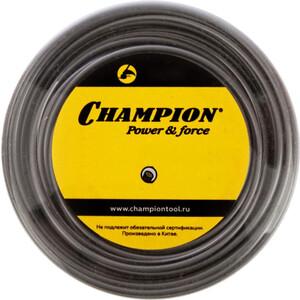 Леска триммерная Champion 2.7мм 72м круглая Aluminium (C7035)