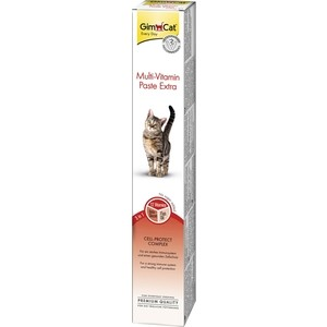 Витамины Gimborn Gimcat Multi-Vitamin Paste Extra 3 in 1 Cell-Protect Complex мультивитаминная паста для кошек 200г (401898)