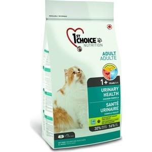Сухой корм 1-ST CHOICE Adult Cat Urinary Health Chicken Formula с курицей профилактика МКБ для кошек 5,44кг (102.1.292)