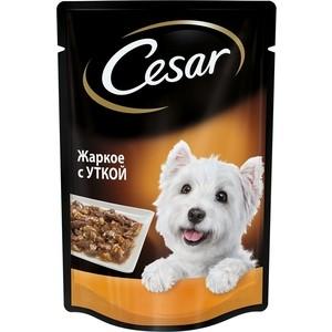 Паучи Cesar жаркое с уткой для собак 100г (10183505)