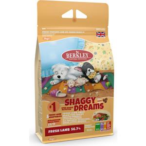 Сухой корм Berkley №1 Puppy SHAGGY DREAMS Fresh Lamb & Vegetables беззерновой с ягненком и овощами для щенков мелких и средних пород 2кг (75300) пеленки для щенков средних пород savic puppy trainer впитывающие 30шт