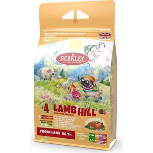 Сухой корм Berkley №4 Adult LAMB HILL Fresh Lamb & Vegetables беззерновой с ягненком и овощами для собак мелких средних пород 2кг (75302)