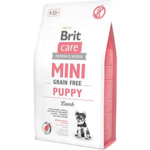 Сухой корм Brit Care MINI Grain-Free Puppy Lamb беззерновой с ягненком для щенков мелких пород 7кг (520152)