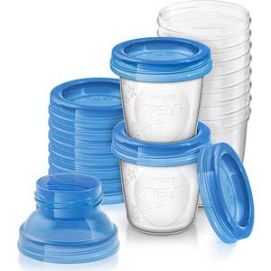 Контейнеры для хранения Avent грудного молока (10 шт х 180 мл) 84470 64392