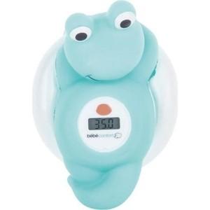 цена на Электронный термометр Bebe Confort для ванны Лягушонок цвет голубой 80274