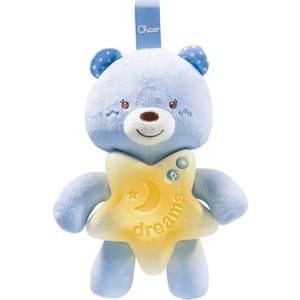 Игрушка-подвеска Chicco Медвежонок голубой, 0+ 90749