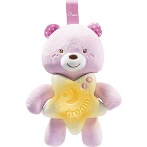 Игрушка-подвеска Chicco Медвежонок розовый, 0+ 90750