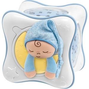 Игрушка-проектор Chicco в виде куба Радуга голубая, 0+ 90752