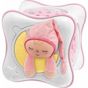 Игрушка-проектор Chicco в виде куба Радуга розовая, 0+ 90751