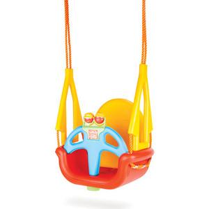 Качели подвесные Pilsan Do-Re-Mi цвет красно-желтый 42992