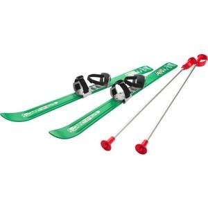 Детские лыжи Gismo Riders с палками и креплениями Baby Ski, 90 см (Чехия) (зеленый) 1373650