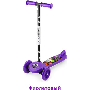 3-х колесный самокат Small Rider Scooter Flash (CZ) (фиолетовый) 1373178