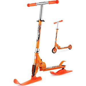 Самокат-снегокат Small Rider с лыжами и колесами Combo Runner 145 (оранжевый) 1373666
