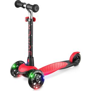 цена на 3-х колесный самокат Zycom со светящимися колесами Zing LUW (красно-черный) 1636572