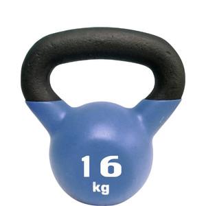 Гиря Sport Elite чугунная с виниловым покрытием 16 кг (матовая)