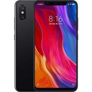 лучшая цена Смартфон Xiaomi Mi 8 6/64Gb Black
