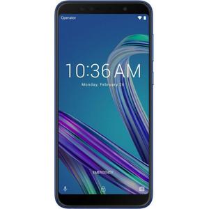 Смартфон Asus ZenFone Max Pro M1 ZB602KL 3/32Gb Blue смартфон asus zenfone 5 ze620kl 4 64gb midnight blue