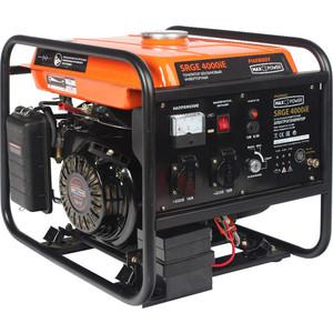 Генератор бензиновый инверторный PATRIOT MaxPower SRGE 4000iE (474101622) patriot srge 3500