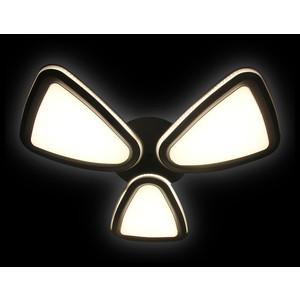 Управляемый светодиодный светильник Ambrella light FG1010/3 WH/SL 204W D770 цена