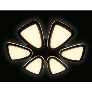 Управляемый светодиодный светильник Ambrella light FG1014/6 WH/SL 410W D1040*800 управляемый светодиодный светильник ambrella light fp2314l wh 210w d740
