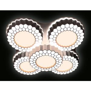 Управляемый светодиодный светильник Ambrella light FH13/5 WH 160W D550*550