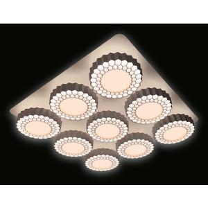 Управляемый светодиодный светильник Ambrella light FH14/9 WH 288W D750*750