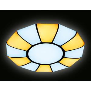 Управляемый светодиодный светильник Ambrella light FP2313L WH 114W D480