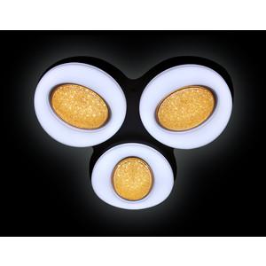 Управляемый светодиодный светильник Ambrella light FS1583/3 WH 156W D585*555 управляемый светодиодный светильник ambrella light fp2314l wh 210w d740