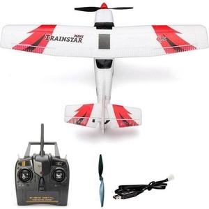 Радиоуправляемый самолет Volantex RC 761-1 Trainstar Mini RTF 2,4Ghz - TW761-1-RTF mini selfie drone foldable helicopter pocket folding altitude 2 4g ty6 rc drone wifi fpv portable rc quadcopter 3d flips rolls