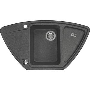 Кухонная мойка Акватон Лория графит (1A715032LR210) полновстраиваемая посудомоечная машина whirlpool wic 3t 224 pfg