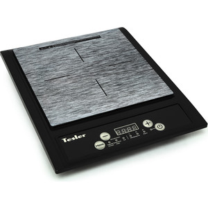 Настольная плита Tesler PI-13 черный плита tesler peo 02 white