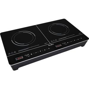 Настольная плита Tesler PI-23 черный морозильник tesler rf 90 белый