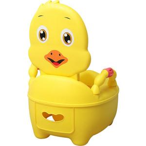 Детский горшок Pituso Цыпленок желтый 36,5*31,5*46см