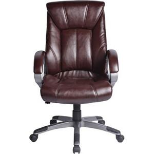 Кресло офисное Brabix Maestro EX-506 экокожа, коричневое, 530878
