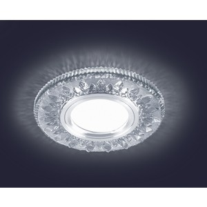 Светодиодный точечный светильник Estares ES-903/MR16-98-2,5W/NW-CLEAR/CLEAR-220-IP20 светодиодный точечный светильник estares es 901 gx53 125 4w nw clear clear 220 ip20
