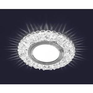 Светодиодный точечный светильник Estares ES-905/MR16-98-2,5W/NW-CLEAR/CLEAR-220-IP20 светодиодный точечный светильник estares es 901 gx53 125 4w nw clear clear 220 ip20