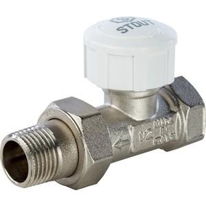 Клапан STOUT прямой 1/2 под термоголовку