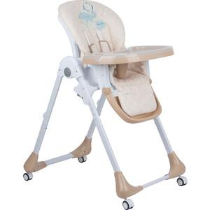 стульчик для кормления capella s 207 зеленый Стульчик для кормления Capella бежевый бежевый мишка GL000840518