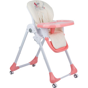 стульчик для кормления capella s 207 зеленый Стульчик для кормления Capella розовый принцесса GL000840522