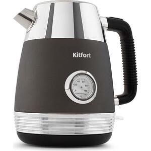 Чайник электрический KITFORT KT-633-1, графит