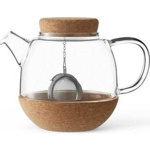Заварочный чайник 0.8 л с ситечком Viva Cortica (V71300)