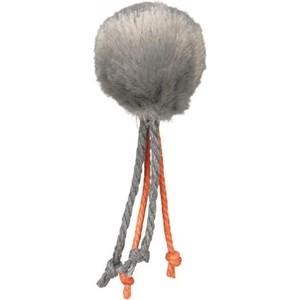 Игрушка TRIXIE Набор Меховые мячи с веревками ф4см*100шт для кошек (4126)