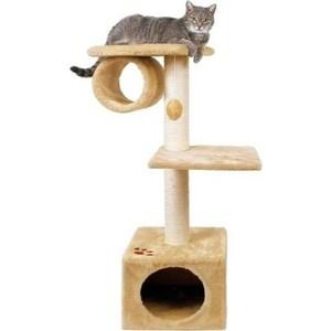 Когтеточка TRIXIE San Fernando домик с 2-мя площадками и трубой для кошек 106см (43951)