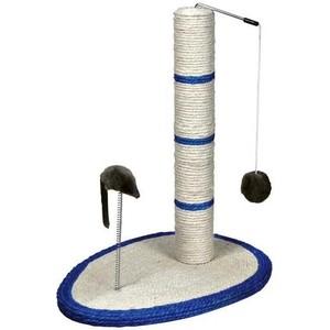 Когтеточка TRIXIE Столбик на подставке с игрушками для кошек 50см (4306) уличный светильник fumagalli globe 250 g25 156 000 wye27