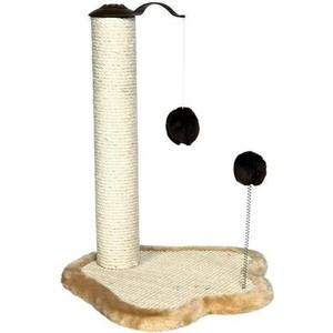 Когтеточка TRIXIE Столбик на подставке с игрушками для кошек 50см (4295)