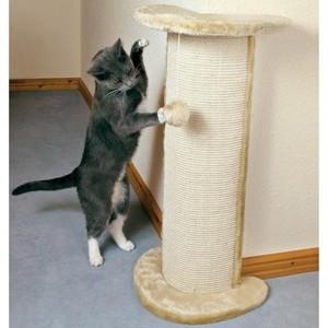 Когтеточка TRIXIE Lorca тумба угловая для кошек 37*27*75см (4350)