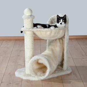 Когтеточка TRIXIE Gandia с полочкой и туннелем для кошек 68см (44551)