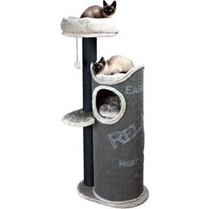 Когтеточка TRIXIE Комплекс Juana с домиком для кошек 134см (44425) игровой комплекс для кошек лапкиндом майя с домиком и когтеточкой цвет кремовый 50 х 50 х 100 см