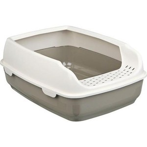Туалет TRIXIE Delio с бортиком для кошек 35*20*48см (40393)