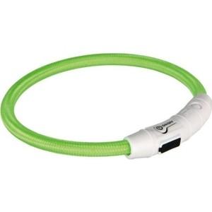Ошейник TRIXIE Кольцо мигающее с USB M-L 45см для собак (12701)